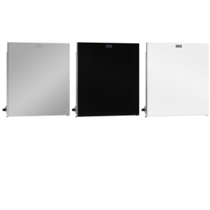 EXOS. stainless steel front for paper towel dispenser for recessed mounting