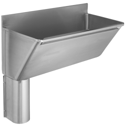 G22029LN scrub trough left hand outlet