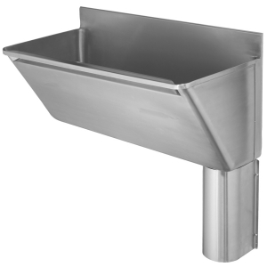 G22030RN scrub trough right hand outlet