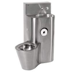 Monoblocco WC-lavabo HEAVY-DUTY