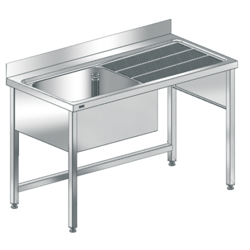 MAXIMA Commercial sink with frame