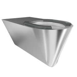 CAMPUS Wall hung WC pan, barrier-free