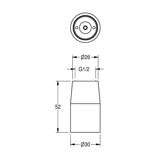 Shower jet nozzle