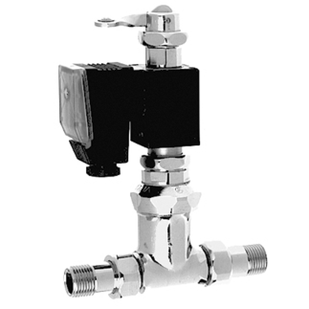 Magnetic self-closing valve