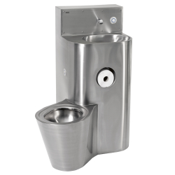 HEAVY-DUTY WC washbasin combination
