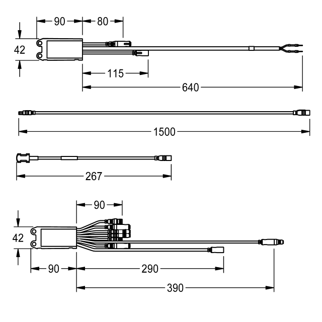 Electronic module for 3-way valve