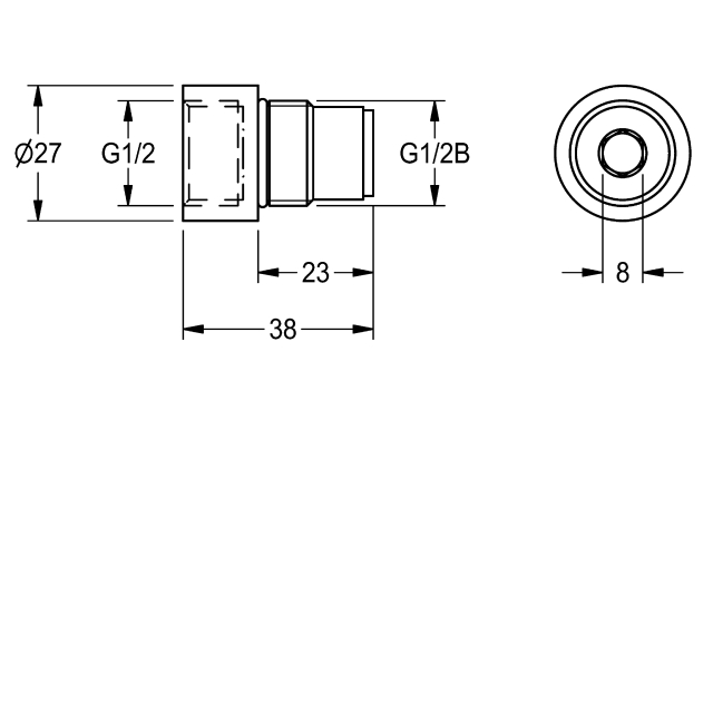 Connection adapter