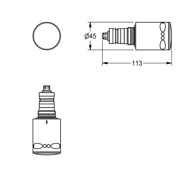 Thermostat control device