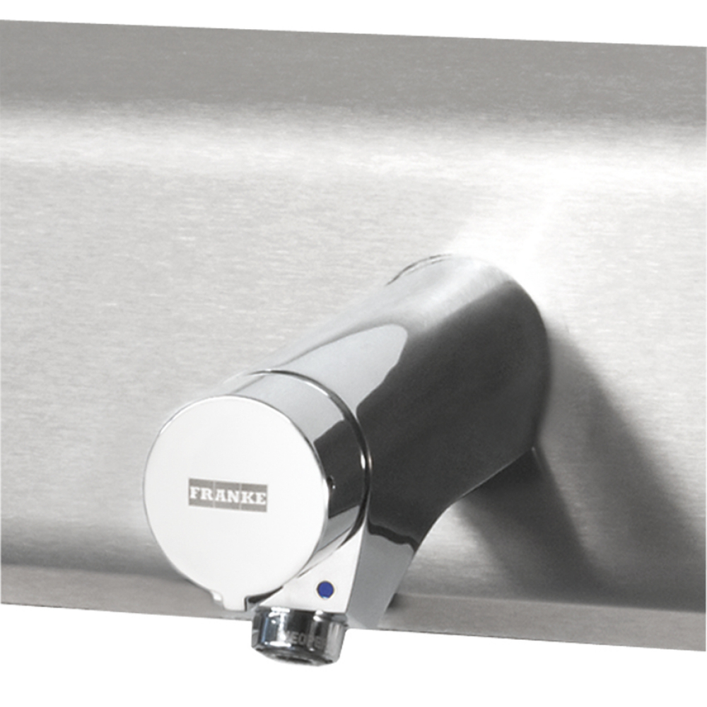 AQUAMIX-S self-closing single knob mixer for tap unit
