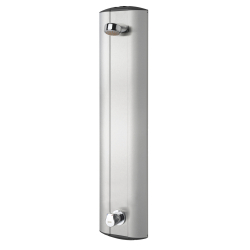 AQUAMIX shower panel with automatic shower pipe draining