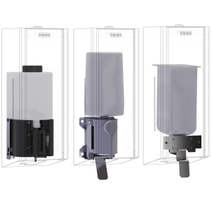 EXOS. conversion kit for EXOS. soap dispenser