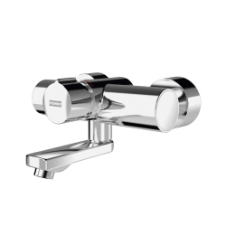 F5S mix self-closing wall-mounted mixer
