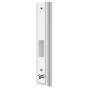 F5E Therm MIRANIT shower panel with shower gel shelf