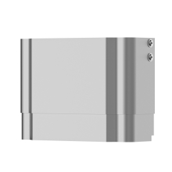 Housing extension for F5 shower panels made of stainless steel
