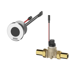 F5E Urinal flush valve for concealed mounting