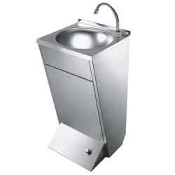 ANIMA Washbasin with foot operation