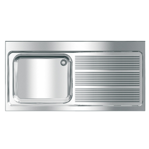 MAXIMA Commercial sink, with space for dishwasher