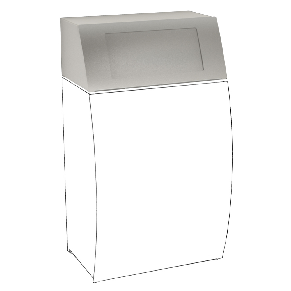 STRATOS Folding self-closing lid for waste bin