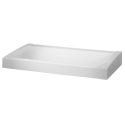 FUTURA exclusive row of washbasins, single
