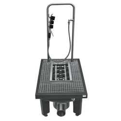 SIRIUS Boot-cleaning-unit