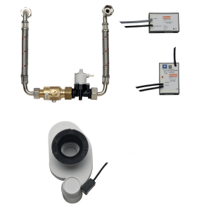 Electronic siphon control for Franke row urinals