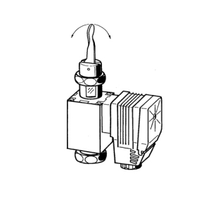 Solenoid part, 230 V AC