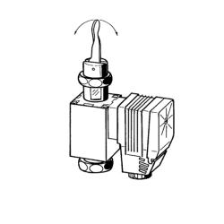 Solenoid part, 24 V AC