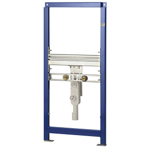 AQUAFIX installation frame for wash basins, suitable for disabled access