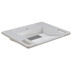 EXOS. single washbasin, barrier-free