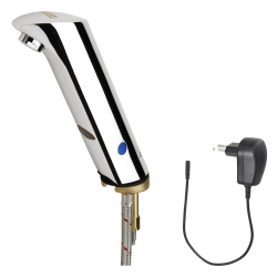 PROTRONIC-S Electronic pillar tap with plug-in power supply unit