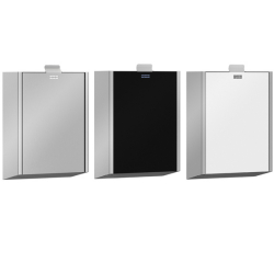 EXOS. hygiene waste bin for wall mounting
