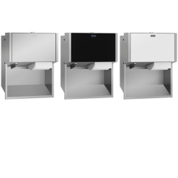 EXOS. double toilet roll holder for recessed mounting