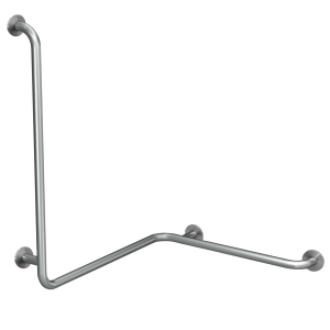 CONTINA (wall-mounted) handrail for corners - right