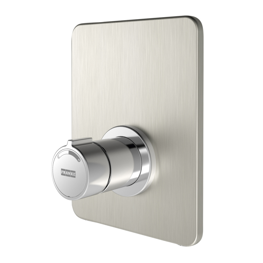 F3S-Mix self-closing in-wall mixer