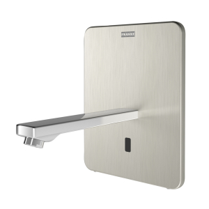 F3E-Therm Electronic thermostatic in-wall mixer with battery operation