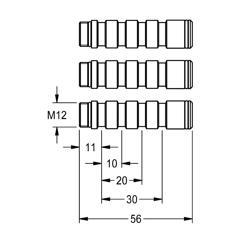 Extension set for F3S-Mix