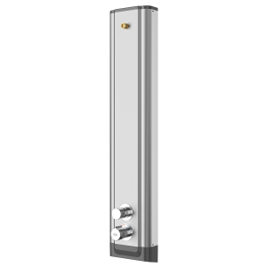 F5S Therm stainless steel shower panel