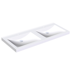 QUADRO double washbasin