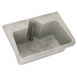 Decor-grey utility sink