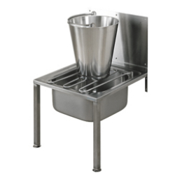 Floor standing bucket sink