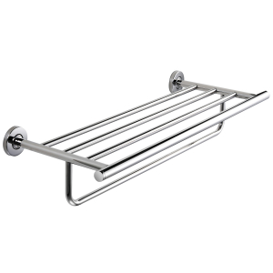 MEDIUS Double towel rack in combination