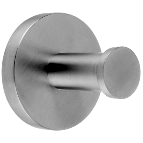 FIRMUS Single robe hook for wall mounting