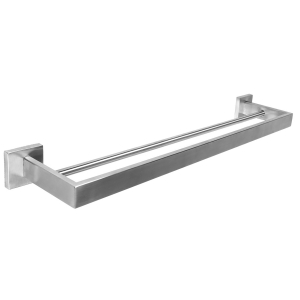 CUBUS Double towel rail for wall mounting