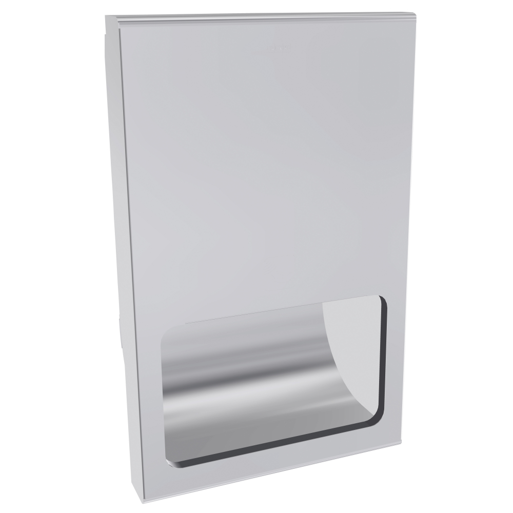 Touch free electronic warm air hand dryer