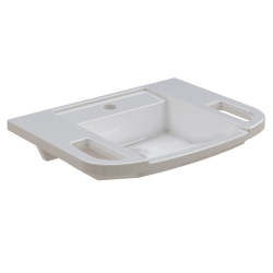 EXOS. hand washbasin, barrier-free