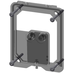 Frame with control unit
