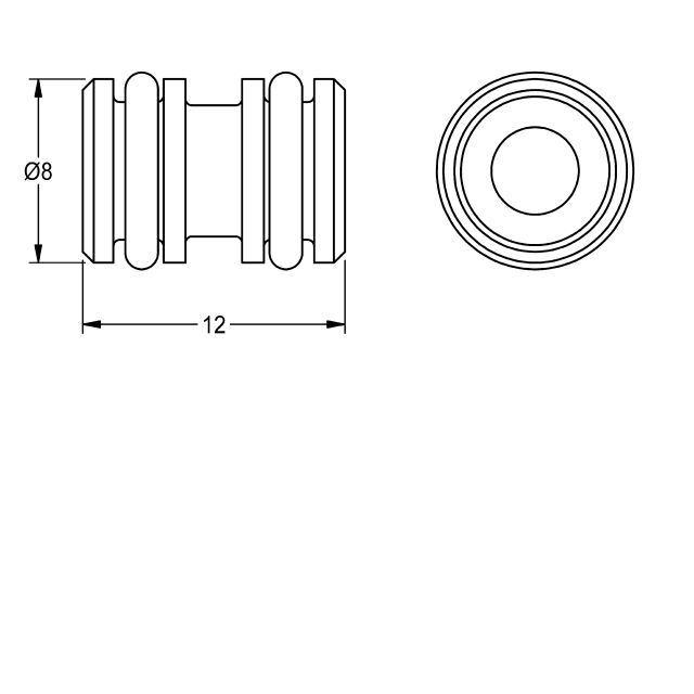 Socket with O-rings