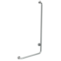 CONTINA 90° angled grab rail, left-hand version