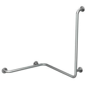 CONTINA (wall-mounted) handrail for corners - left