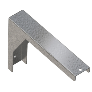 Bracket for PLANOX washtroughs